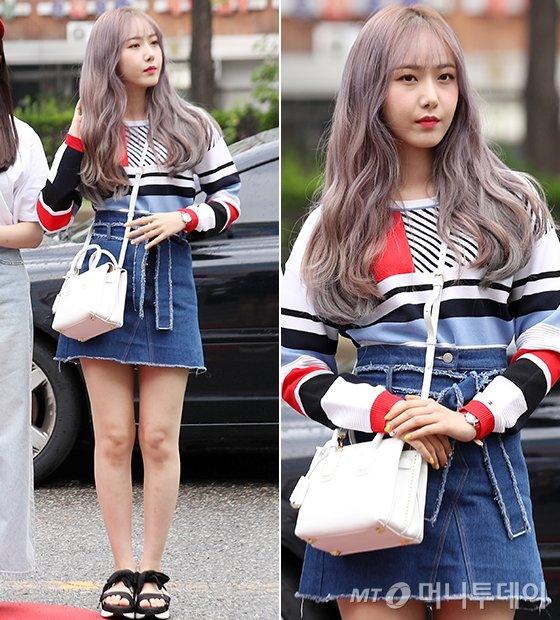 그룹 여자친구 신비/사진=김휘선 기자