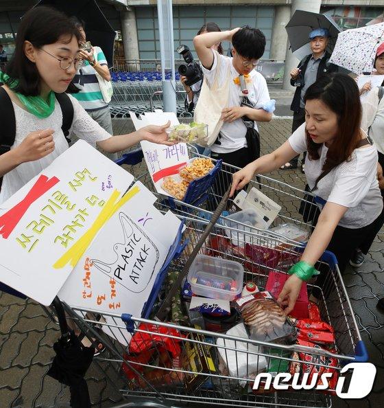 [사진]'상품을 산건지, 포장재를 산건지...'