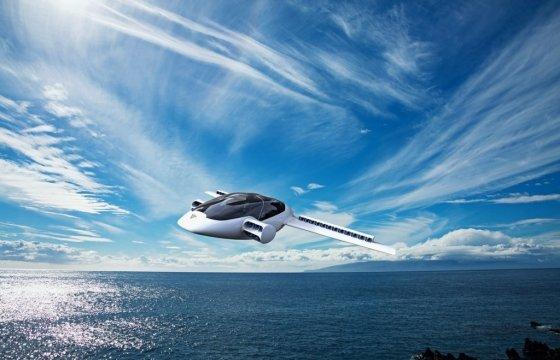 독일 스타트업 릴리엄이 개발한 2인승 플라잉카 '이글'. 항속거리가 300km에 달한다. /사진제공=릴리엄.