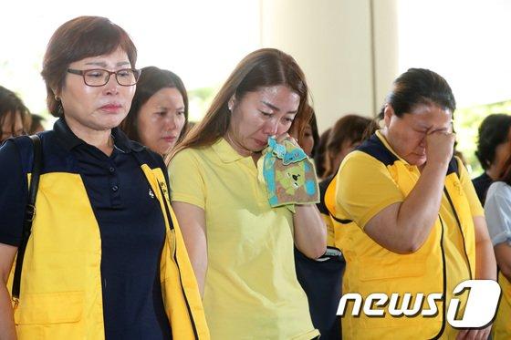 [사진]세월호 유가족 '눈물이 왈칵'