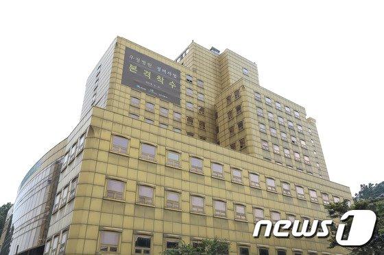 [사진]철거 앞둔 과천 우정병원