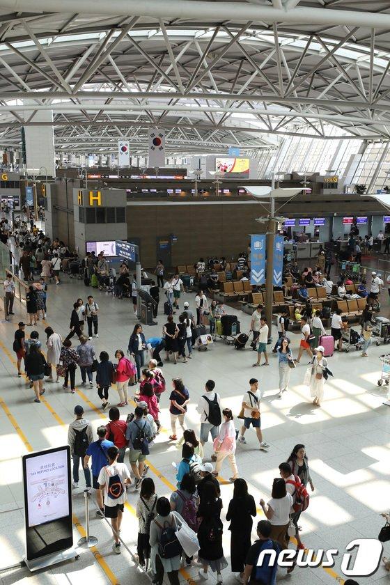 [사진]인천국제공항공사, 인천공항 제1 터미널 2020년까지 리모델링 나서