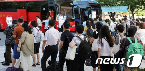 [사진]대입제도개편 공론화위원회, 시민참여단 2차 숙의토론회 종료