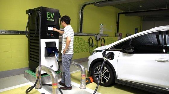 광운대, 9대 동시 충전가능한 전기차 충전기 설치