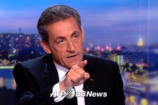 니콜라스 사르코지 전 대통령 /AFPBBNews=뉴스1
