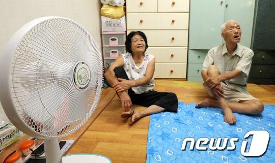 [사진]서울시, 에너지빈곤층에 선풍기 등 냉방물품 지원