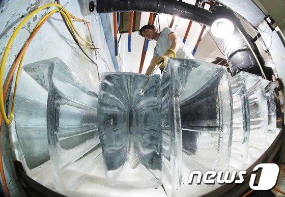 [사진]'이 얼음으로 폭염을 잡는다'