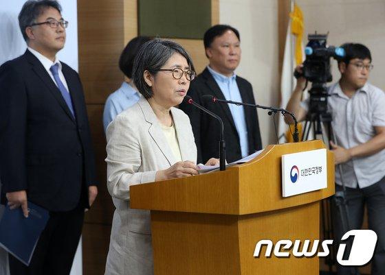 [사진]대입제도 개편 공론화 결과 발표하는 김영란 위원장