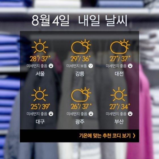 [내일뭐입지?]더운 주말, 현아·이던처럼 '스니커즈 커플룩'