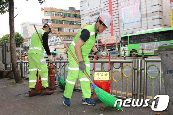 [사진]'우리 영등포구 거리를 깨끗하게'