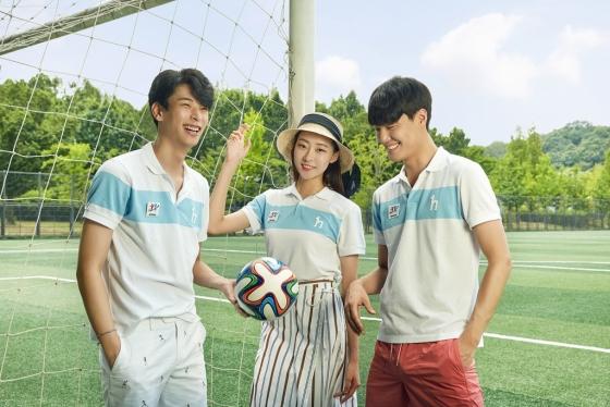 헤지스, '평양 피케티' 한정판매…유소년축구대회 기념