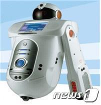 이디의 생산제품인 지능형 스쿨도우미 로봇 '유로보'