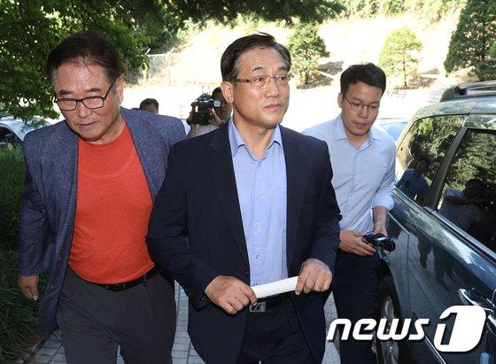 [사진]'인사청탁 뇌물수수 혐의' 집행유예 선고받은 구은수 전 청장