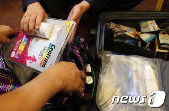 [사진]북측 가족에게 전달할 선물