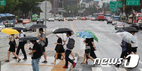 [사진]보슬비 내리는 서울