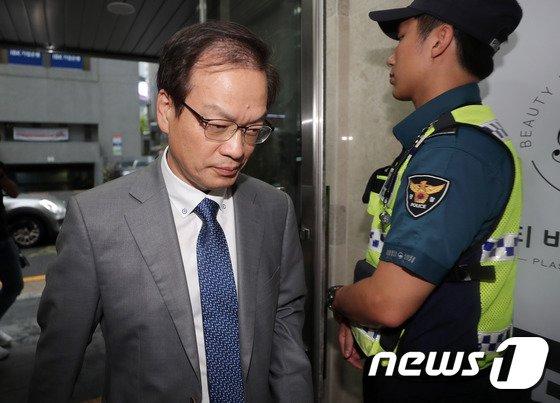 [사진]허익범 '드루킹 특검 수사종료 하루 앞두고'