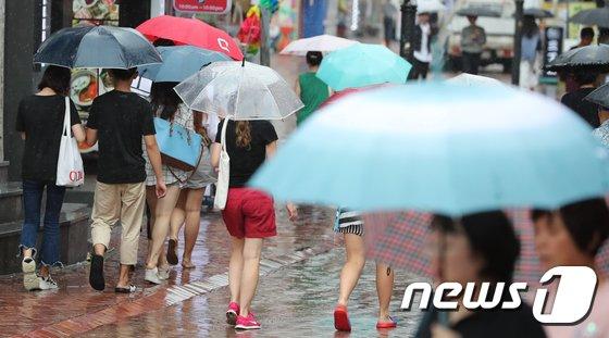 [사진]비 내리는 서울도심
