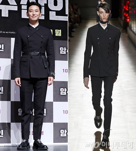 배우 주지훈/사진=김휘선 기자, Dior Homme