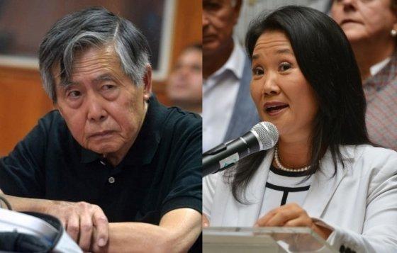 알베르토 후지모리(왼쪽), 게이코 후지모리 부녀./AFPBBNews=뉴스1