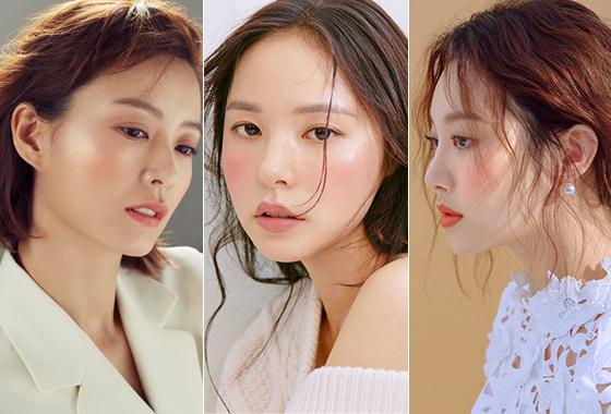 배우 정유미, 민효린, 그룹 걸스데이 유라/사진제공=로라 메르시에, 엘르, 싱글즈