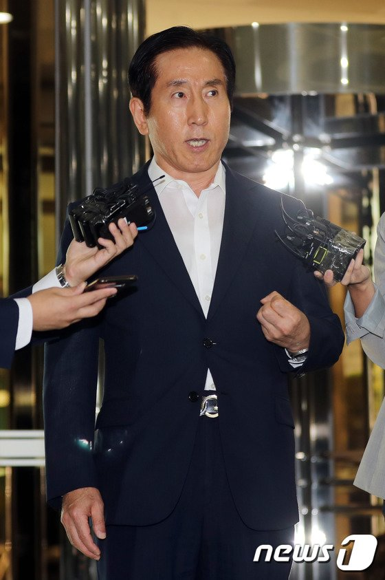 [사진]조현오 '정치 관여 지시한적 없어'