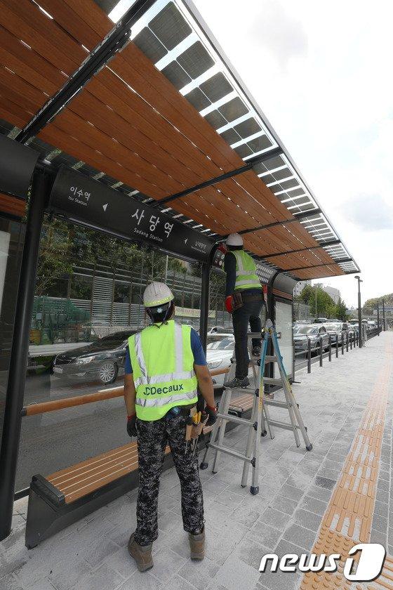 [사진]'동작대로 버스전용차로 전면개통 준비'
