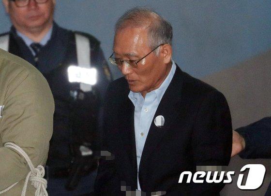 박원동 전 국가정보원 국익정보국장. 2018.2.28/뉴스1 © News1 허경 기자