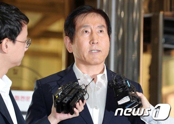 [사진]조현오 전 경찰청장 '신중한 답변'