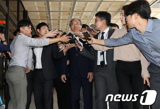 [사진]'사법농단' 수사에 쏠린 관심