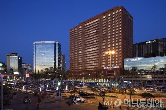 서울 중구 서울스퀘어 전경. /사진제공=서울스퀘어