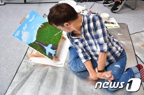 [사진]'그림을 향한 열정'