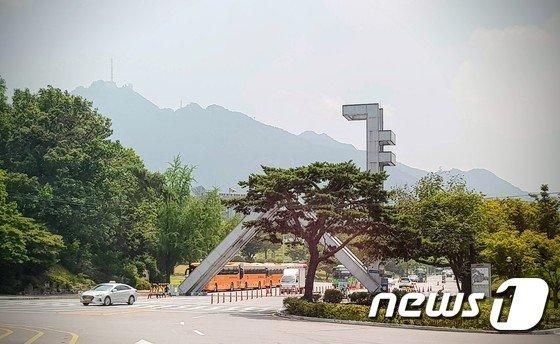 서울대 정문 전경 © News1 황덕현 기자
