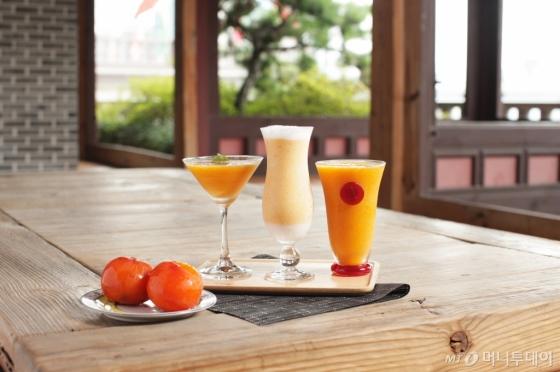 해피 추석 인 팰리스 패키지에 포함된 카페 델마르 홍시 음료 /사진제공=임피리얼 팰리스 서울