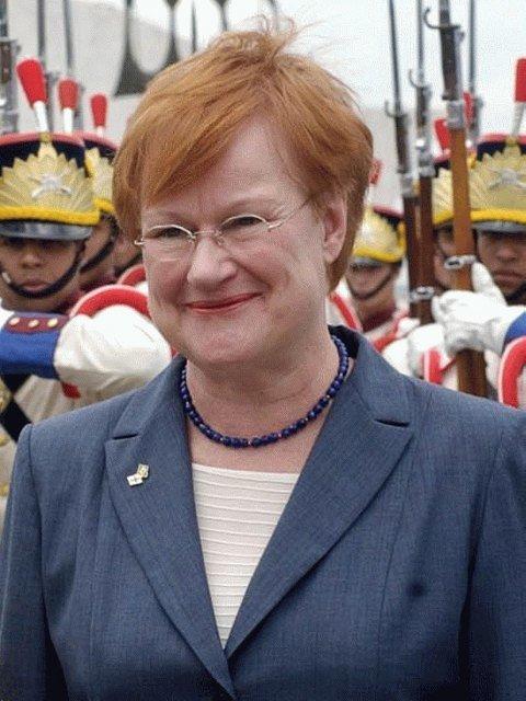 타르야 할로넨 전 핀란드 대통령 /사진=위키커먼스
