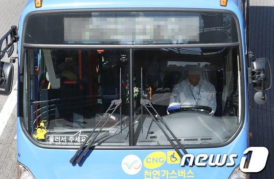 [사진]'버스기사님도 안전벨트'