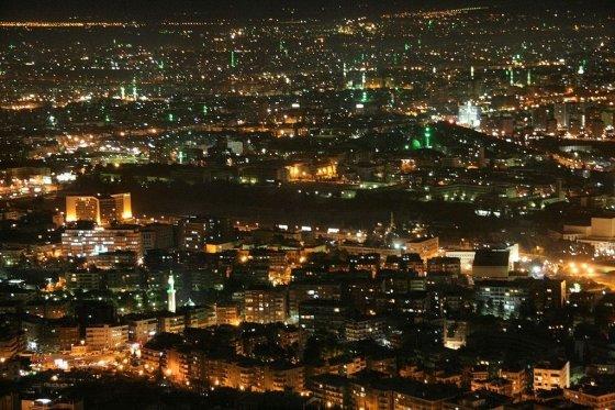 시리아 다마스쿠스 야경 /사진=위키커먼스