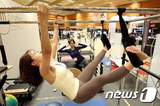 [사진]피트니스, 라이프스타일 대축제 '밸런스페스티벌 서울'