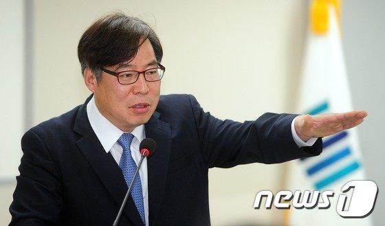 윤대진 법무부 검찰국장. 2017.5.1/뉴스1 © News1 여주연 기자