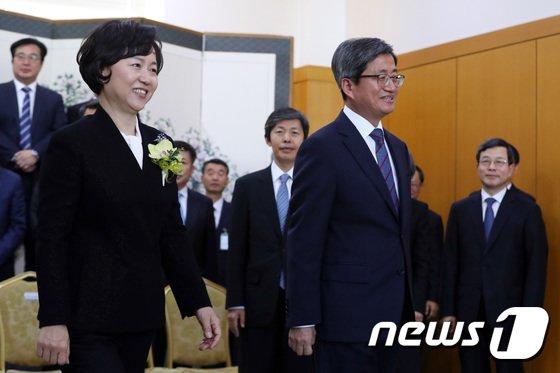 [사진]대법 떠나는 김소영 대법관
