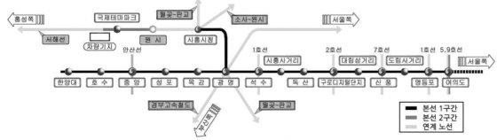 """""""지하철역 에스컬레이터 없다니""""… 신안산선 논란"""