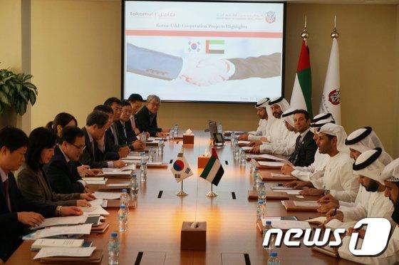 [사진]제1차 한-UAE 과학 기술 및 ICT 공동위원회
