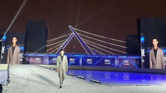 남성복 브랜드 '미유미', 중국 광저우서 패션쇼 선보여