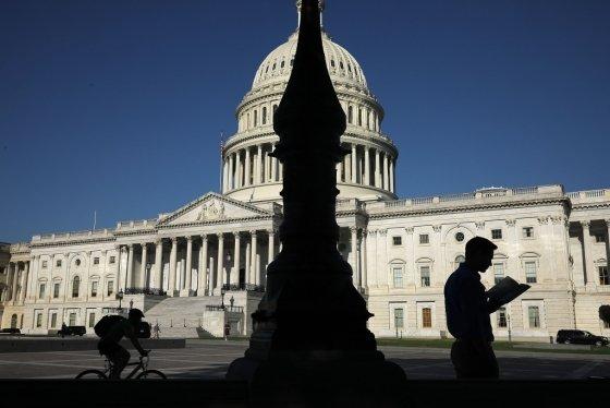미국 워싱턴DC에 위치한 의회의사당. /AFPBBNews=뉴스1