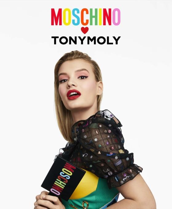 토니모리 x 모스키노 협업 컬렉션/사진제공=토니모리
