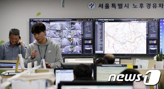 [사진]서울시, 노후 차량 운행 단속 첫 시행