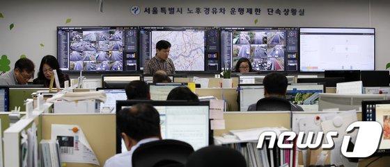 [사진]서울시, 노후 공해차량 운행제한 시행