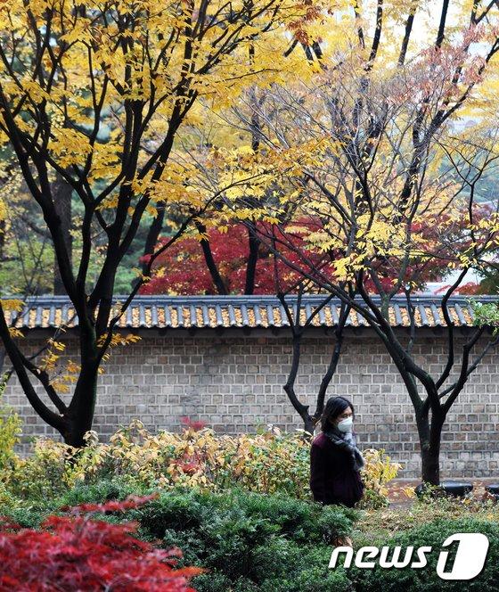 [사진]가을 불청객 미세먼지