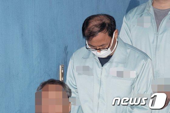 MB 정권 당시 국정원 정치관여 혐의를 받고 있는 신승균 전 국가정보원 국익전략실장.  © News1 이승배 기자
