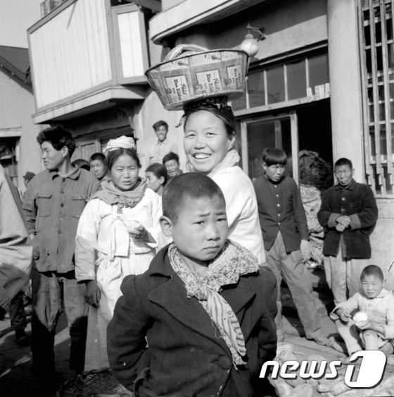 [사진]1948년 부산수산시장