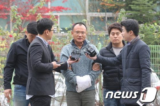[사진]'직원 폭행·엽기행각' 양진호 회장 전격 체포…마약 혐의도 추가